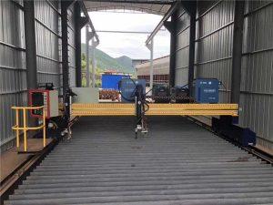 ప్రెసిషన్ సిఎన్సి ప్లాస్మా కట్టింగ్ మెషిన్ సర్వో మోటార్తో ఖచ్చితమైన 13000 మిమీ