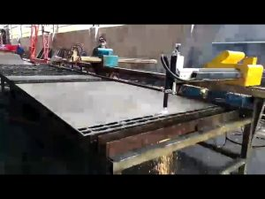 మెటల్ స్టీల్ కటింగ్ మెషిన్ మినీ పోర్టబుల్ జ్వాల, ప్లాస్మా కట్టింగ్ మెషిన్ ధర